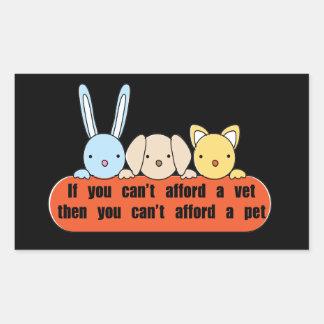 Afford Vet Afford Pet Stickers