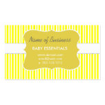 Affordable Cute Golden Baby Children Business Cards