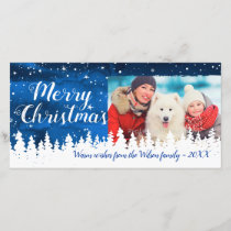 Affordable Holiday Merry Christmas Photo Cards