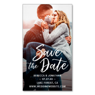 Affordable Mini Save the Date Magnets Cheap