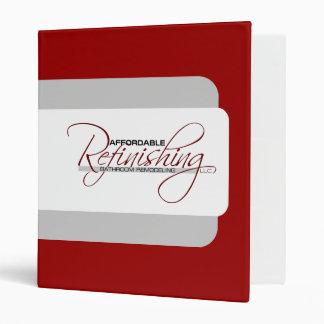 Affordable Refinishing Binder