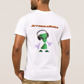 AffordaBuds ReeZen logo American Apparel T-Shirt