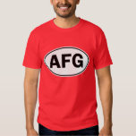 AFG Oval ID Tee Shirt