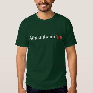 Afganistán '80 playeras