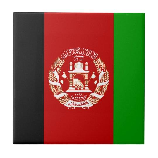 Afganistán Azulejo Cuadrado Pequeño