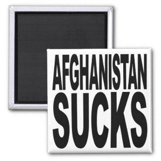Afganistán chupa imán cuadrado