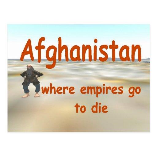 Afganistán Tarjeta Postal