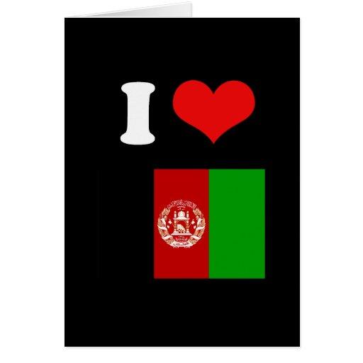 Afganistán Tarjetas