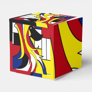 Afgano abstracto cajas para regalos