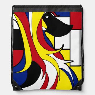 Afgano abstracto mochila