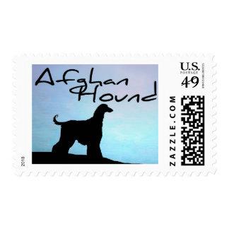 Afgano de la orilla del agua franqueo