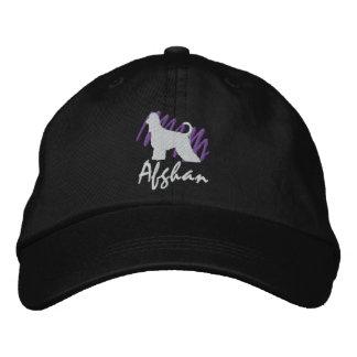 Afgano garabateado gorra de béisbol bordada