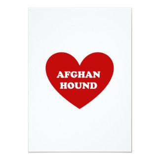 """Afgano Invitación 5"""" X 7"""""""