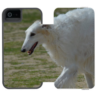 Afgano sedoso funda cartera para iPhone 5 watson
