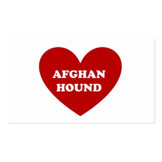Afgano Tarjeta De Visita