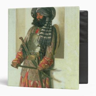 Afghan, 1870 binder