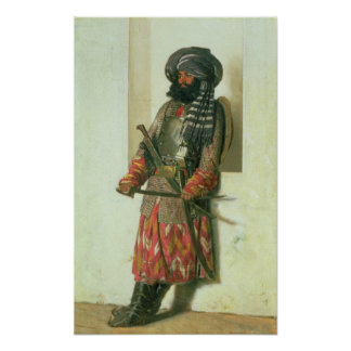 Afghan, 1870 poster