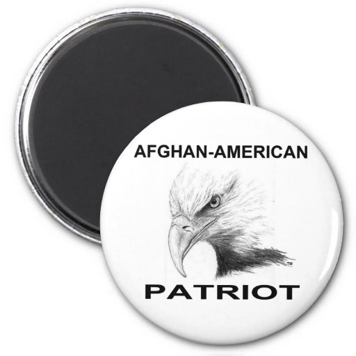 Afghan-American Patriot Fridge Magnets