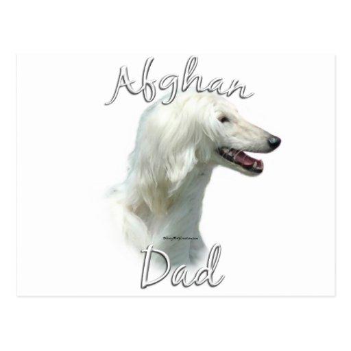 Afghan Dad 2 Postcard