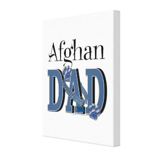 Afghan DAD Stretched Canvas Prints