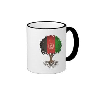 Afghan Flag Tree of Life Customizable Coffee Mug