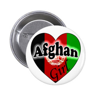 Afghan Girl Buttons
