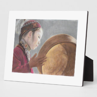 Afghan Girl, 'Daughter of the Moon' Plaque