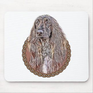 Afghan Hound 001 Mouse Pad