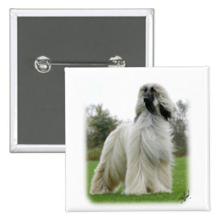 Afghan Hound 9Y247D-025 Pinback Button