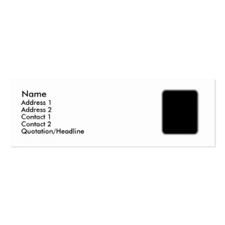 Afghan Hound AA017D-101 Pack Of Skinny Business Cards