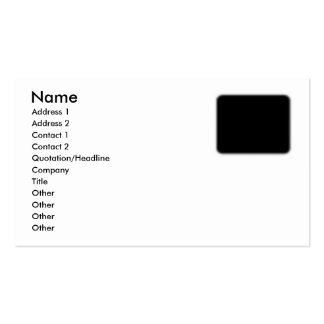 Afghan Hound AA017D-115 Business Card Template