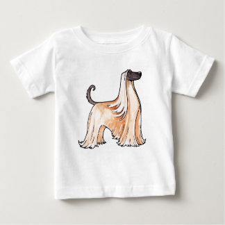 Afghan Hound Baby T-Shirt