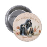Afghan Hound Can't Have Just One Gifts Pinback Buttons
