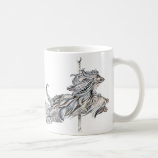 Afghan Hound Carousel Jump Coffee Mug