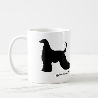 Afghan Hound Classic White Coffee Mug