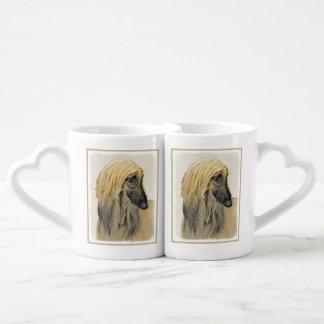 Afghan Hound Coffee Mug Set