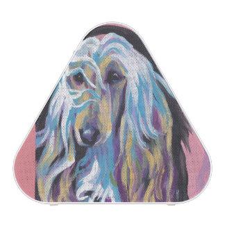 Afghan Hound colorful pop dog art Speaker
