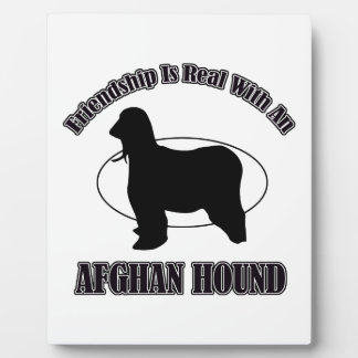 afghan hound DOG DESIGNS Photo Plaques