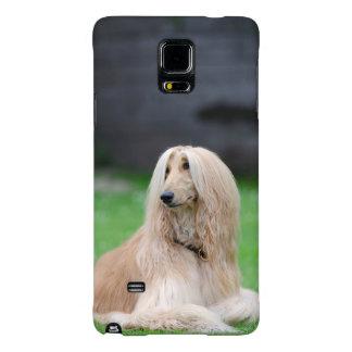 Afghan Hound dog photo Samsung Galaxy Note 4 case