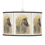 Afghan Hound Hanging Lamp