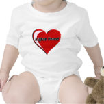 Afghan Hound Heart T Shirt