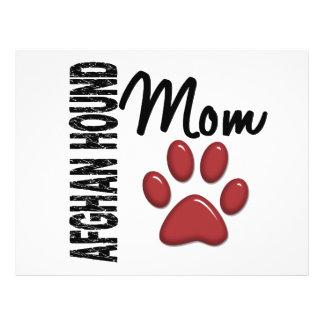 Afghan Hound Mom 2 Full Color Flyer