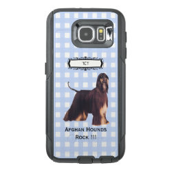 OtterBox Commuter Samsung Galaxy S6 Case with Afghan Hound Phone Cases design