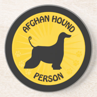 Afghan Hound On Board [Xing] Coaster