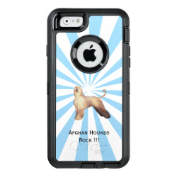 OtterBox Symmetry iPhone 6/6s Case with Afghan Hound Phone Cases design