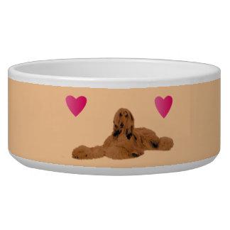 Afghan Hound Pet Bowls