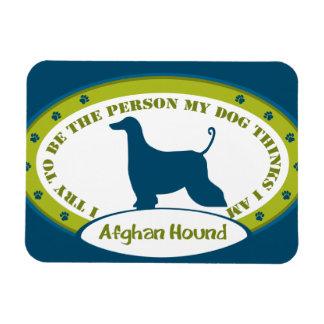 Afghan Hound Rectangular Photo Magnet