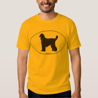 Afghan Hound Silhouette T Shirt