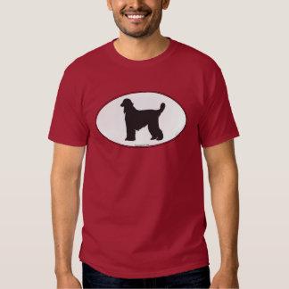 Afghan Hound Silhouette Tee Shirt