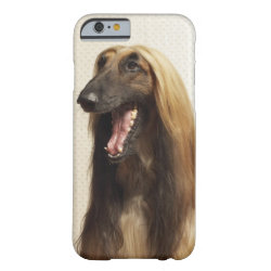 Case-Mate Barely There iPhone 6 Case with Afghan Hound Phone Cases design